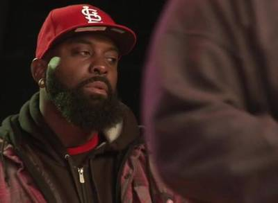 News video: Michael Brown's Father Returns to Shooting Scene to Give Back
